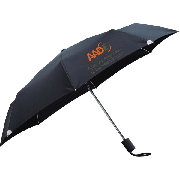 "Imprinted 42"" Auto Open/Close Windproof Safety Umbrella"