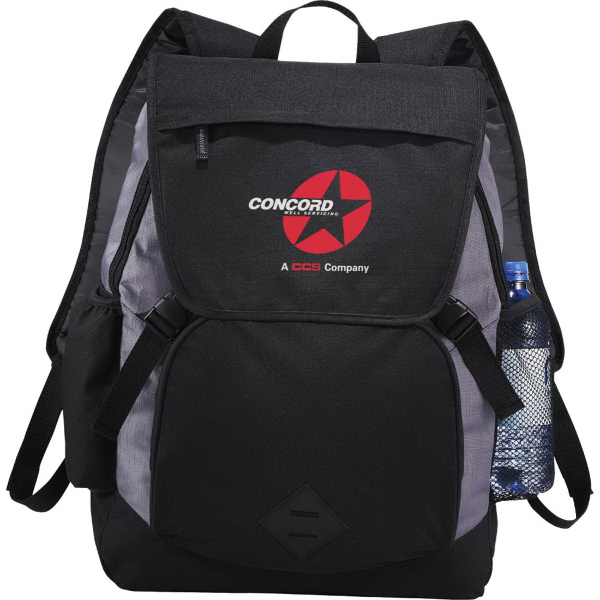 "Imprinted Pike 17"" Compu-Backpack"