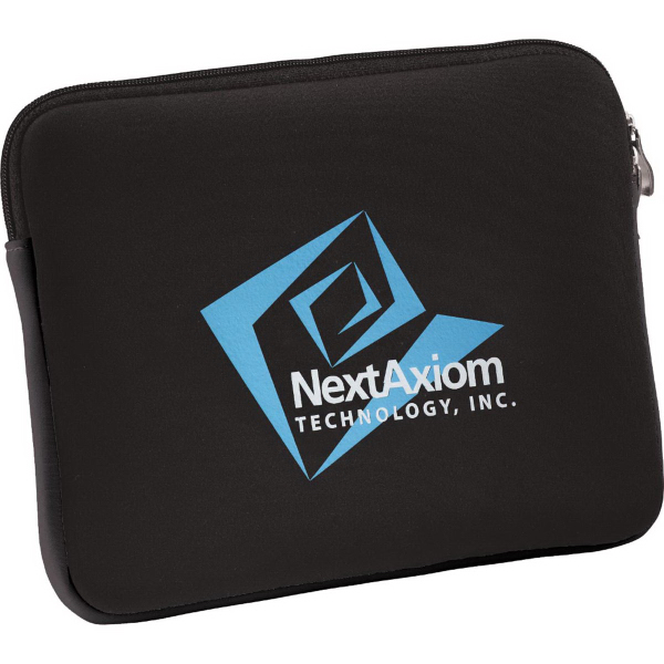 Customized Neoprene Zippered Tablet Sleeve