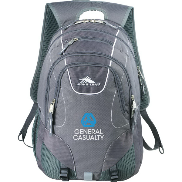 Personalized High Sierra (R) Vortex Fly-By Compu-Backpack