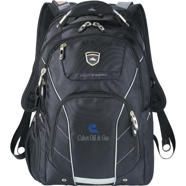 Personalized High Sierra (R) Elite Fly-By Compu-Backpack