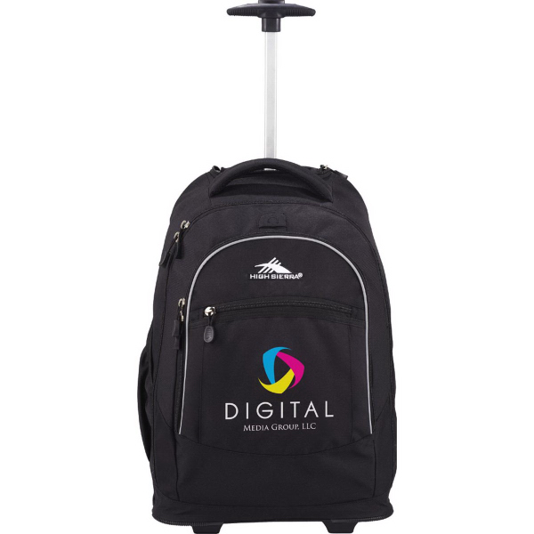 Customized High Sierra (R) Chaser Wheeled Compu-Backpack
