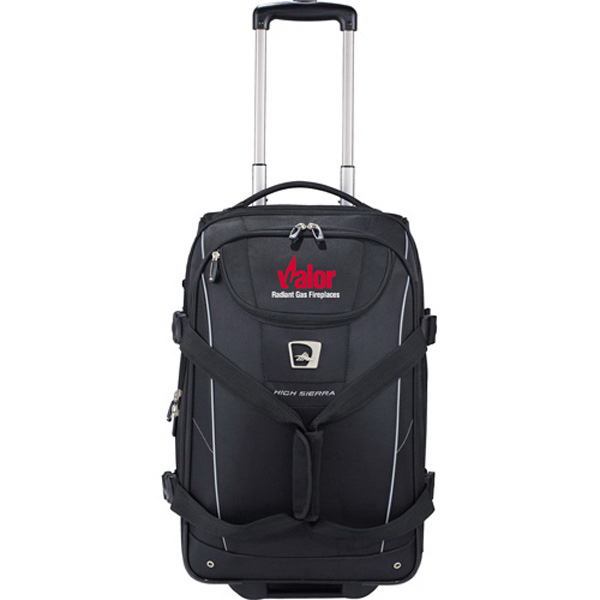 Customized High Sierra (R) Elite Carry-On Wheeled Duffel Bag