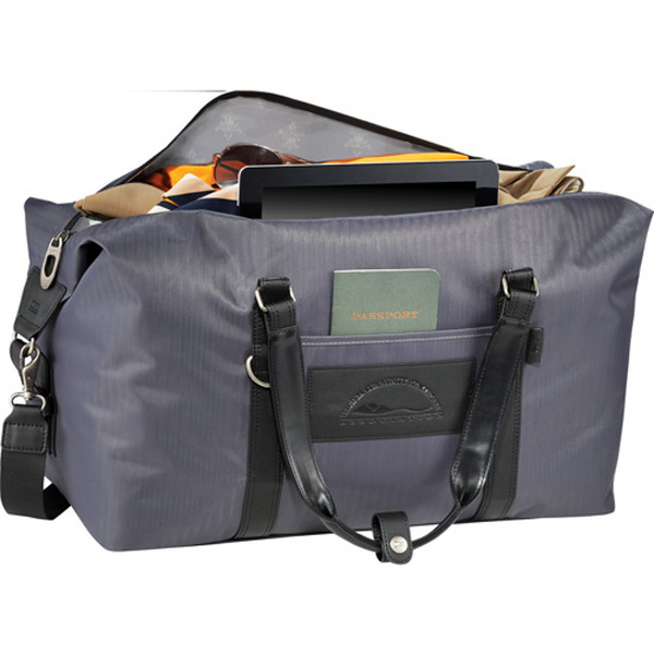 Custom Cutter & Buck (R) Pacific Series Weekender Duffel Bag