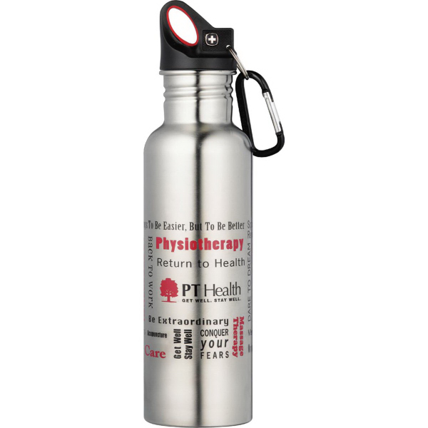 Customized Wenger (R) Stainless Bottle 26oz
