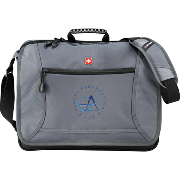 Customized Wenger (R) Spirit Checkpoint-Friendly Compu-Messenger Bag