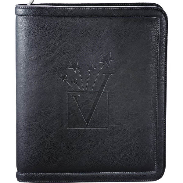 Personalized Kenneth Cole (R)  Borders Jr. Zippered Padfolio