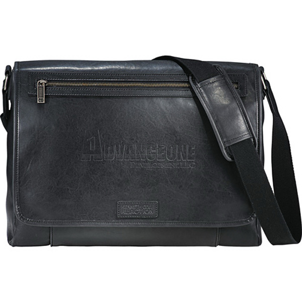 Imprinted Kenneth Cole (R) Reaction Compu-Messenger Bag