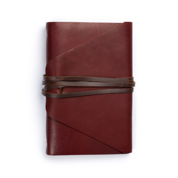 Personalized Messenger leather journal