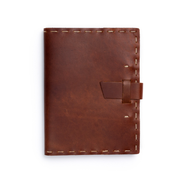 Custom Switchback Notebook w/Buckle Hand-sewn