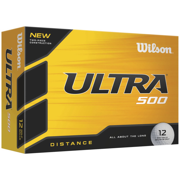 Printed Wilson Ultra 500 Factory Direct Golf Ball