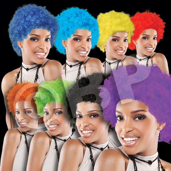 Promotional Spirit Cheering Costume  Wig