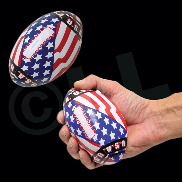 Imprinted USA Flag Football