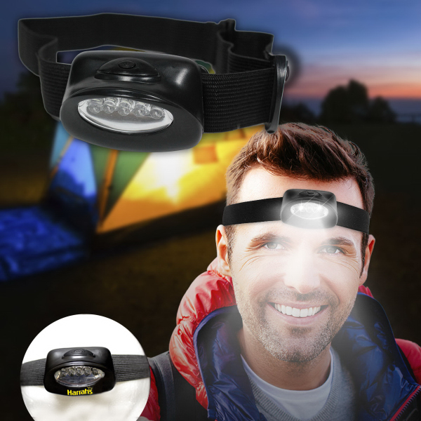 Customized Head LED Light with Elastic Headband