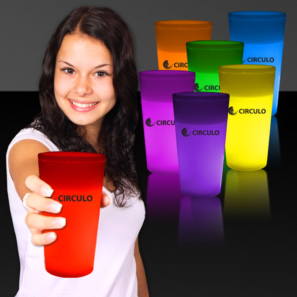 Custom 12 oz. Light Up Glow Cup