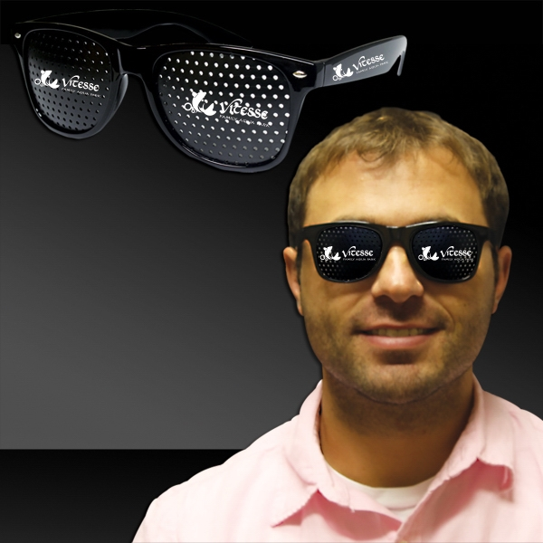 Customized Black Billboard Costume Sunglasses Glasses