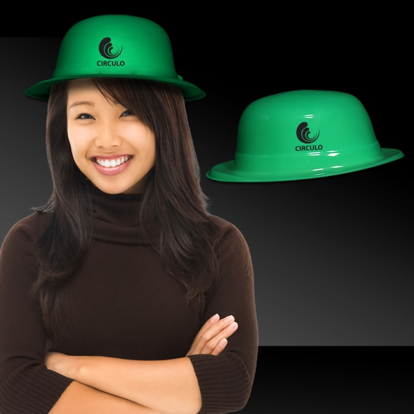 Custom Green derby Hat