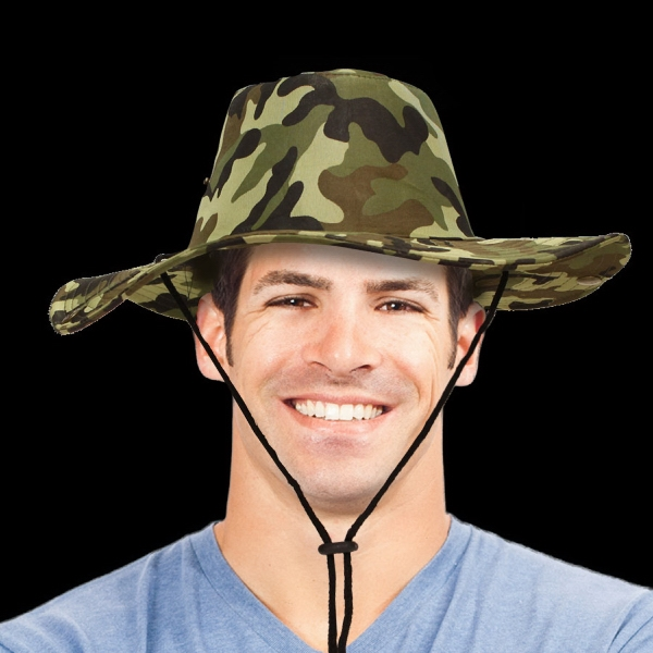 Personalized Camouflage Western  Cowboy Hat