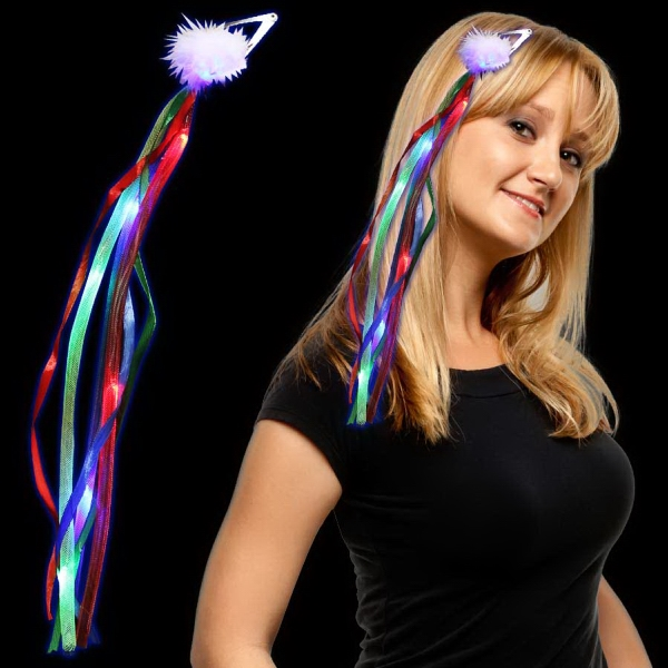 Imprinted Rainbow Light Up LED Diva