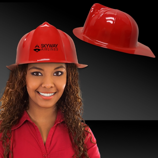 Promotional Red Firefighter fireman's Hat
