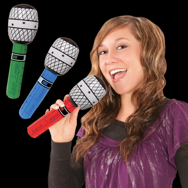 Custom Inflatable Microphones