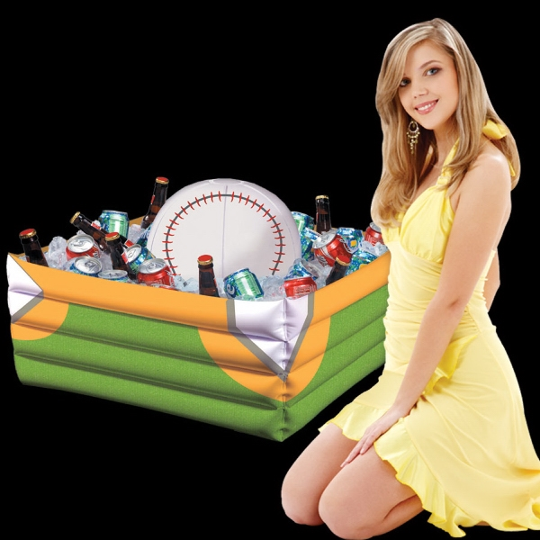 Customized Inflatable Baseball Fan Cooler