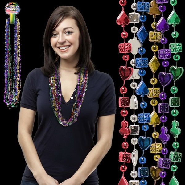 Personalized Casino Beads