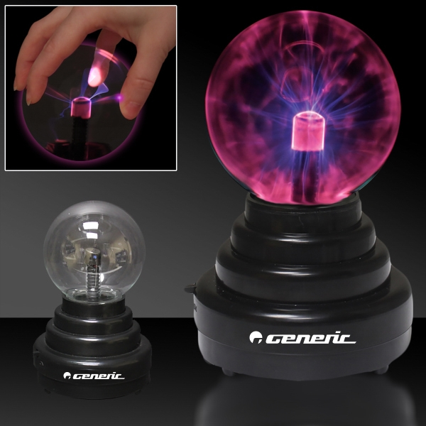 "Promotional 6"" Laser Static Light Up LED Glow Ball Lamp Decoration"