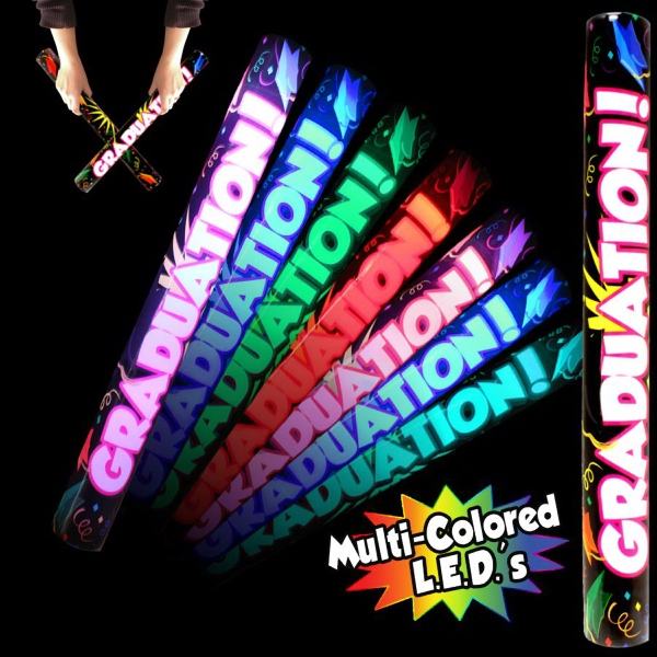 Imprinted Graduation LED Light Up Glow Lumiton