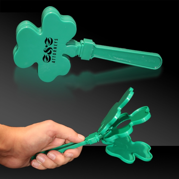 Custom Shamrock Clapper