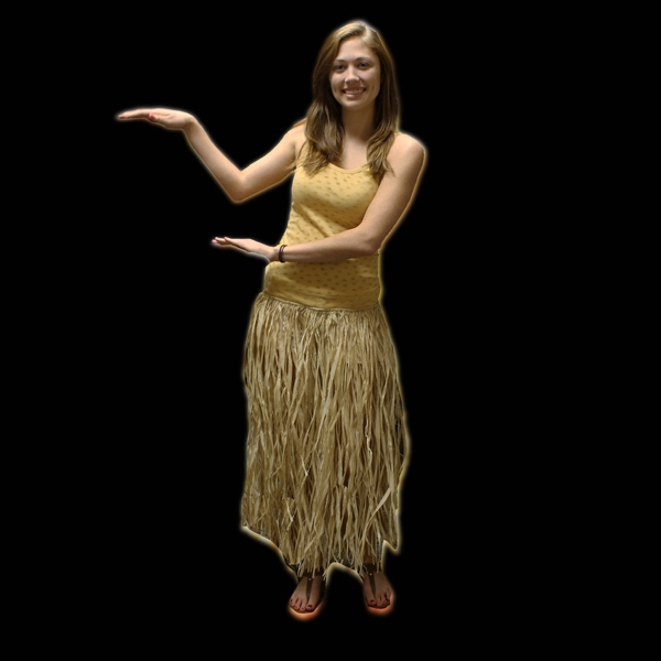 Customized Adult Raffia Hula Skirt