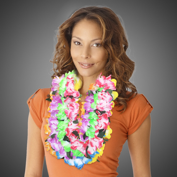 Customized Tie Dye Flower Lei