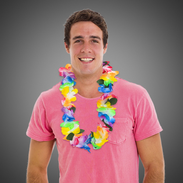 Customized MultiColor Tie Dye Lei