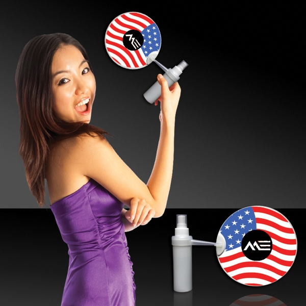 Promotional American Flag Mist-R-Fan