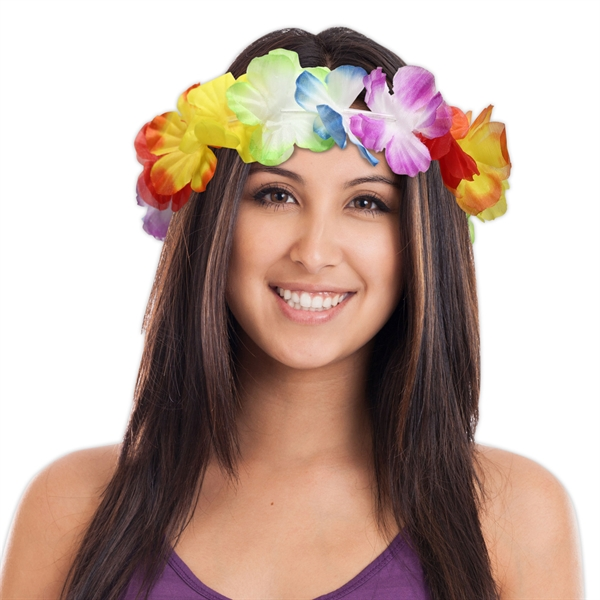 "Personalized 21"" Jumbo Flower Headband"