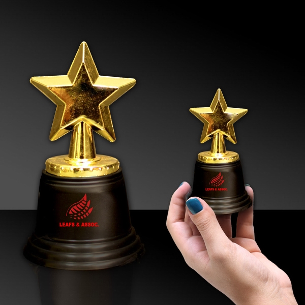 Personalized Gold Star Award