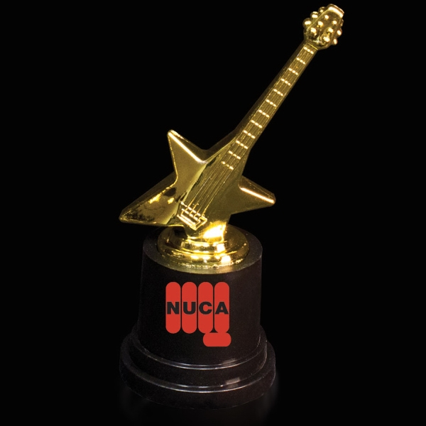 Promotional Guitar Award Statue