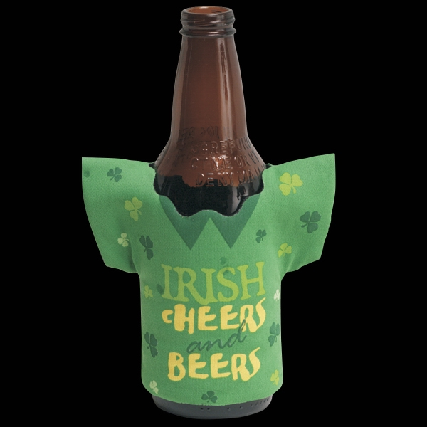 Printed Irish Cheer Drink Holder