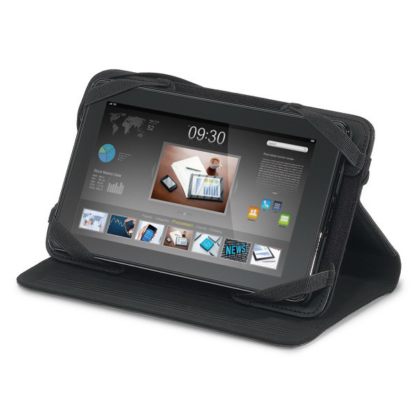 "Personalized Travis & Wells (TM) 7"" Leather Tablet Stand"