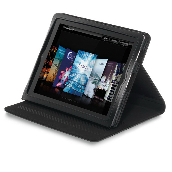 Customized Brookstone (R) 7'' Leather iPad (R) Stand