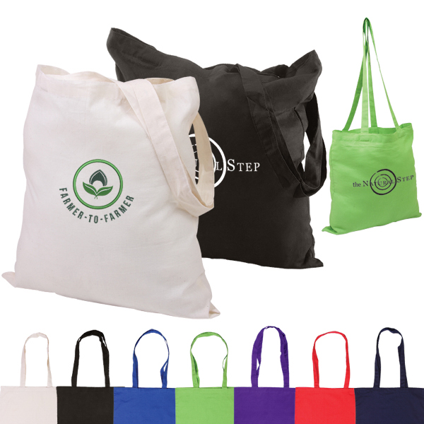 Personalized Basic Cotton Tote
