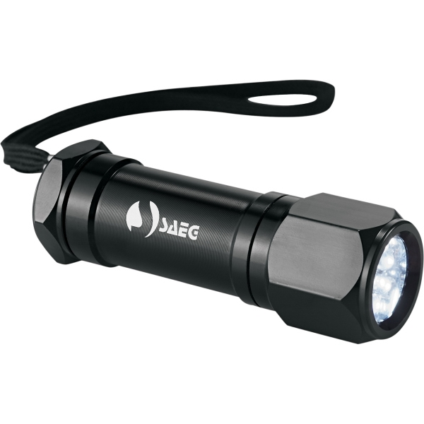 Imprinted Workmate 8  LED Aluminum Superbright Flashlight