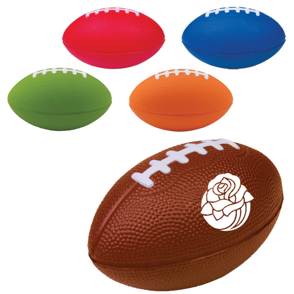 Custom Large Football Stress Reliever