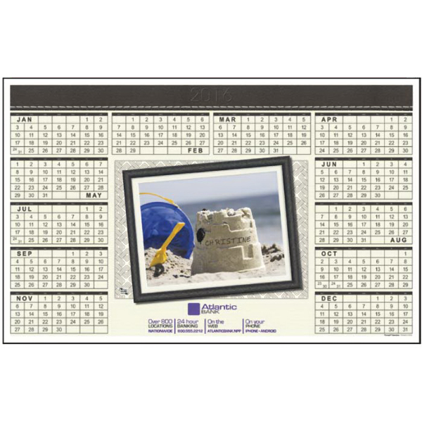 Personalized Your Name Here, Span-A-Year Calendar