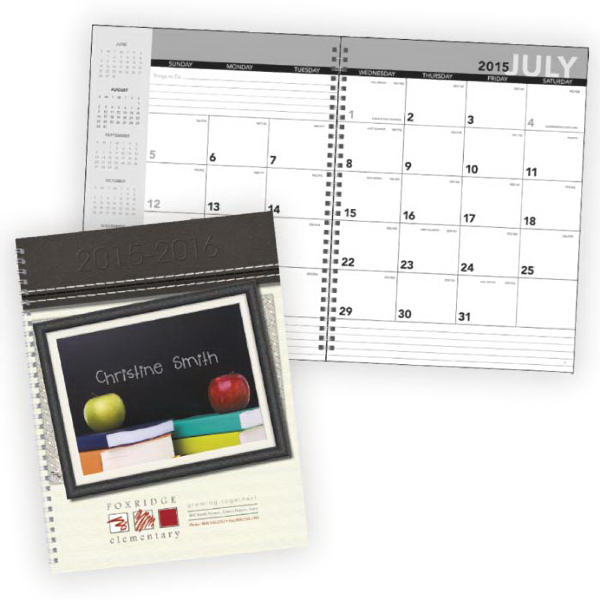 Personalized Your Name Here Academic Planner (July-August)