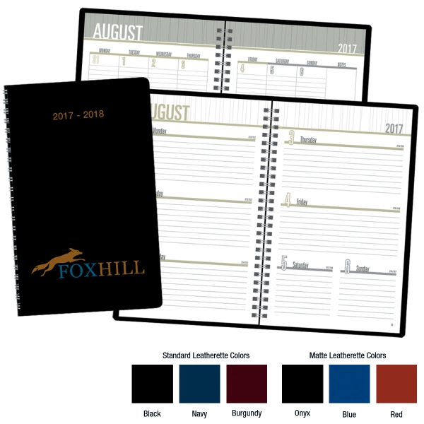 Promotional Academic Monthly and Weekly Planner