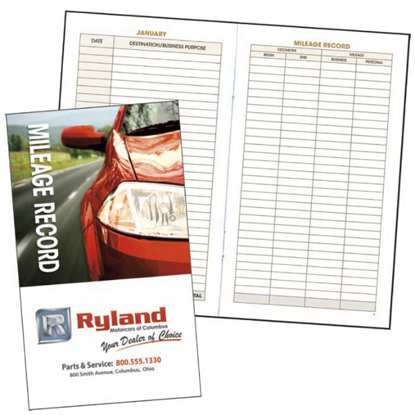 Customized Auto Mileage Log