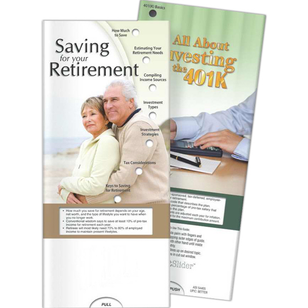 Customized Pocket Slider - Saving for Your Retirement