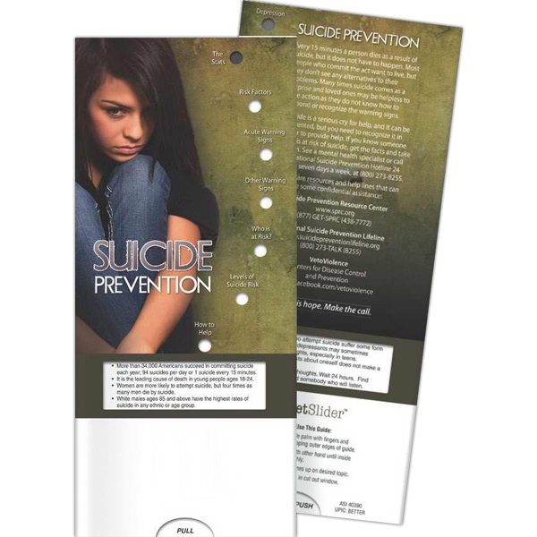 Personalized Pocket Slider - Suicide Prevention