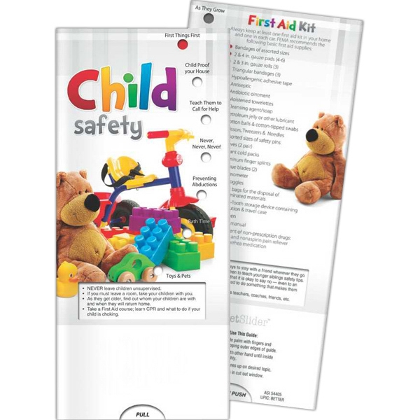 Personalized Pocket Slider - Child Safety